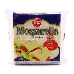 Zott Premium Mozzarella Cheese (12 Slices)