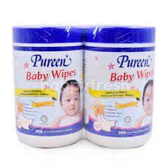 Pureen Baby Wipes (2 Packs)