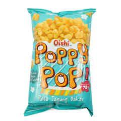 Oishi Poppy Pop Snek Rasa Jagung Bakar