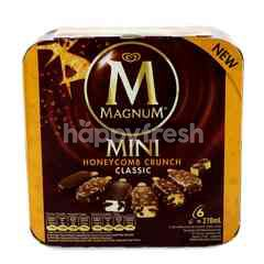 Wall's Magnum Mini Honeycomb Crunch Classic Ice Cream (6 Pieces)