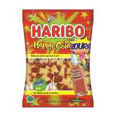Haribo Happy Sour Fresh Cola Jelly Candy