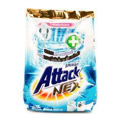 Attack Nex Concentrate Formula Crystal Clean Scent Powder Detergent