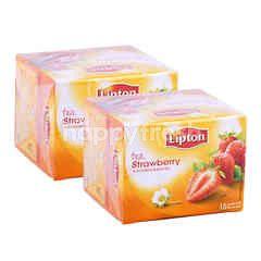 Lipton Teh Strawberry Twinpack