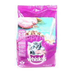 วีสกัส จูเนียร์ รสปลาทะเลและนม สำหรับลูกแมว