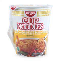 Nissin Mie Cup Rasa Gulai Ayam Melayu