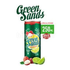 Green Sands Lime & Lychee Canned Soda