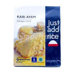 Just Add Rice Kari Ayam Siap Dimasak