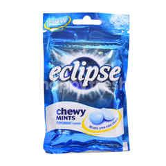 Eclipse Peppermint Flavour Chewy Mints Candy