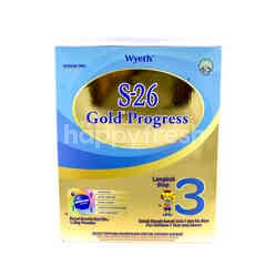 Wyeth S-26 Gold Progress Step 3