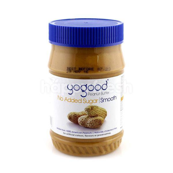 Yogood Peanut Butter Smooth No Added Sugar