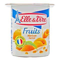 Elle & Vire Fruits Apricot Yogurt