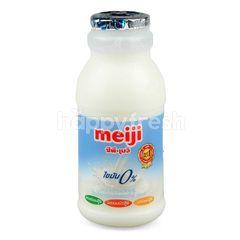 Meiji Pasteurized Non Fat Milk Plain Flavoured 200 ml