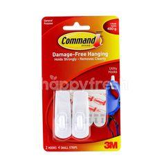 Command Damage-Free Hanging Utility Hooks