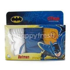 GT Man Kids Batman Briefs Size L