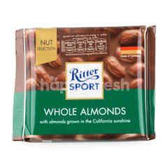 ริทเตอร์สปอร์ต ช็อกโกแลตนมผสมอัลมอนด์