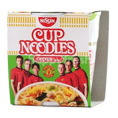 Nissin Cup Chicken Flavoured Noodles