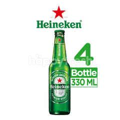 Heineken International Bottled Lager Beer 4 Pack