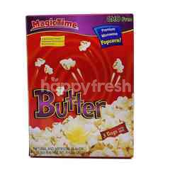 Magic Time Butter Premium Microwave Popcorn (3 Bags)