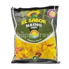 El Sabor Nacho Chips - Jalapeno Flavor
