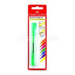 Faber-Castell Textliner Super-Fluorescent Green Highlighter