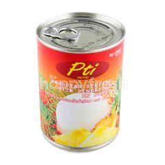 พีทีไอ เงาะยัดใส้สับปะรดในน้ำเชื่อม