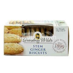 GRANDMA WILD'S Stem Ginger Biscuits