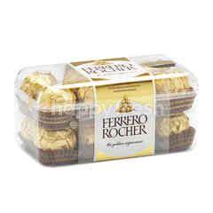 เฟอเรโร รอชเชอร์ ช็อกโกแลตนมผสมเกล็ดเฮเซลนัทสอดไส้ครีม