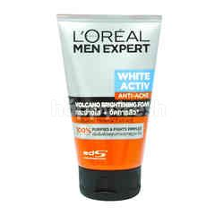 L'Oreal Men Expert White Activ Total Skin Renewer Volcano Red Foam
