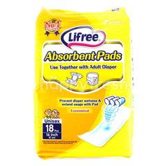 LIFREE Economical Absorbent Pads