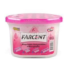 Farcent Disposable Dehumidifier Rose Scent