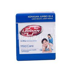 Lifebuoy Mild Care Antibacterial Bar Soap Jumbo Pack