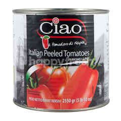 Ciao Brand Potongan Tomat Itali Kupas