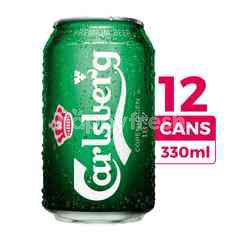 Carlsberg (Canned) Beer 330ml 12-Pack