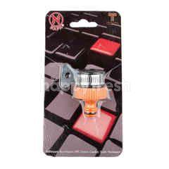 Napa Black Faucet Adapte #7637
