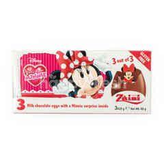 Zaini 3 Cokelat Susu Telur dengan Hadiah Minnie Kejutan di dalamnya