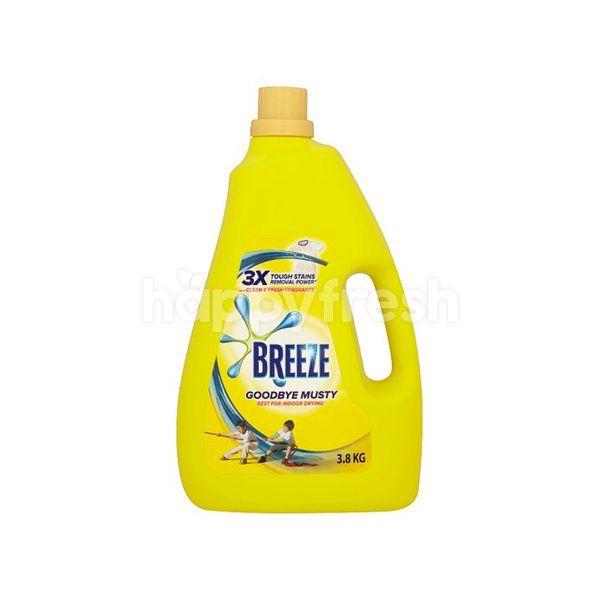 Breeze Breeze Goodbye Musty Liquid Detergent