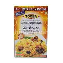TOOBA Memoni Mutton Biryani Mix For Hot & Spicy Mutton Pilaf (2 Packs)