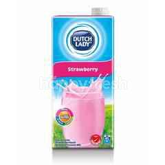 Dutch Lady Milk UHT Pure Farm Strawberry 1L