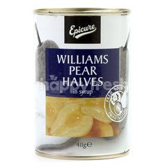 Epicure Williams Pear Halves In Syrup