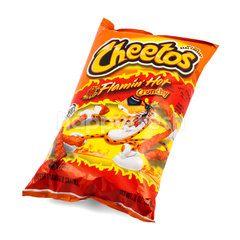 Cheetos Flamin' Hot Crunchy Snacks