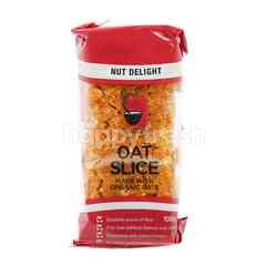Nut Delight Oat Slice