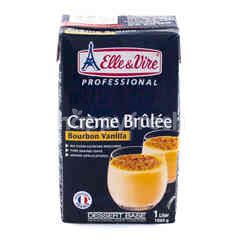 Elle & Vire Professional Creme Brulee Flavored Cream