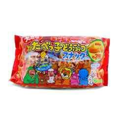 Ginbis Tabekko Doubutsu Snack Usushio (6 Bag)