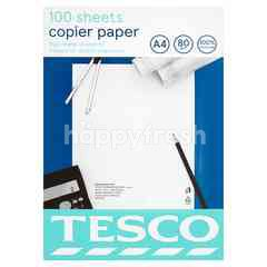 Tesco A4 Copier Paper (100 Pieces)