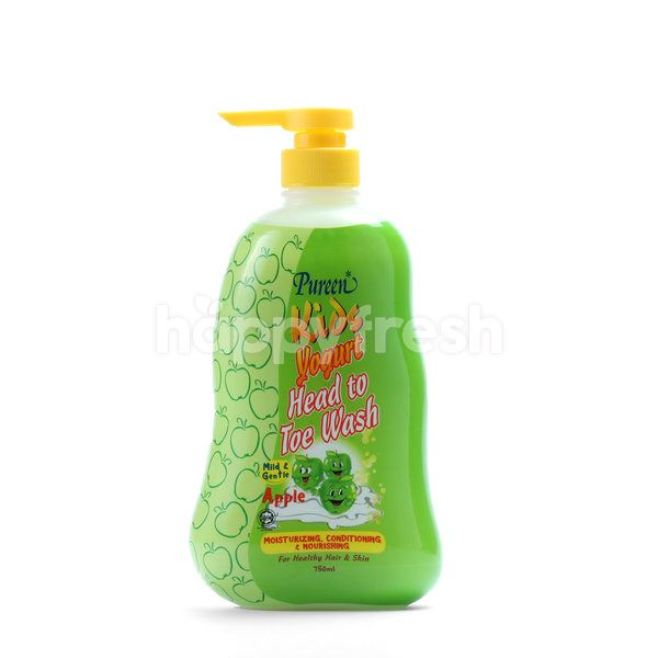 Pureen Kids Yogurt Head To Toe Wash