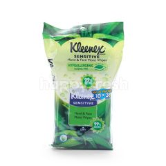 KLEENEX Sensitive Hand & Face Moist Wipes