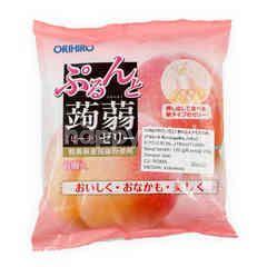 Orihiro Peach Konnyaku Jelly