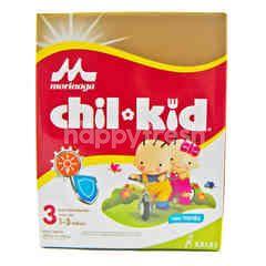 Morinaga Chil Kid Susu Pertumbuhan Bubuk Rasa Vanila (4 buah x 400g)