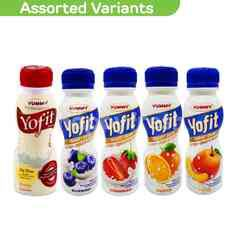 Yummy Yofit Probiotic Drinks 180g Assorted Package (Choose Any 3)