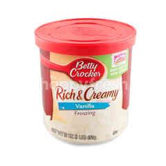 Betty Crocker Frosting Rich & Creamy Vanilla